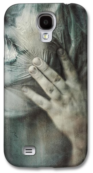 Creepy Digital Art Galaxy S4 Cases - Ghosts.Echoes.SilentSounds. Galaxy S4 Case by Joanna Jankowska