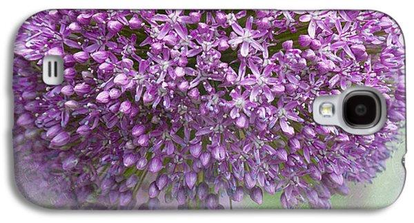 Garden Images Galaxy S4 Cases - Giant Allium Galaxy S4 Case by Bonnie Bruno