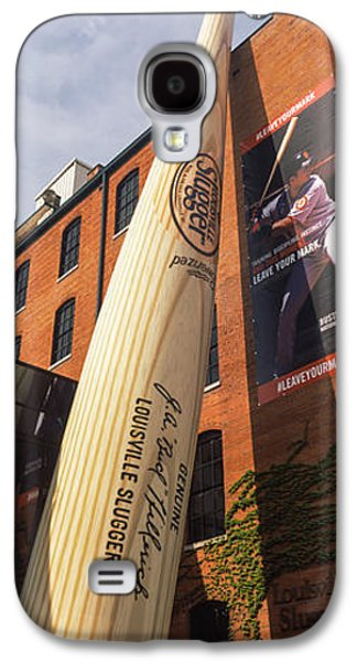 Giant Baseball Bat Adorns Galaxy S4 Case by Panoramic Images