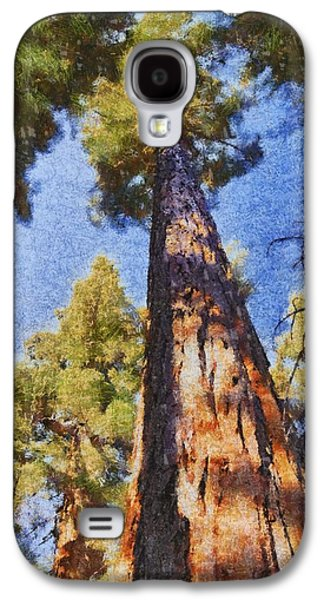 Tree Roots Galaxy S4 Cases - Giant Sequoia Pastel Galaxy S4 Case by Barbara Snyder