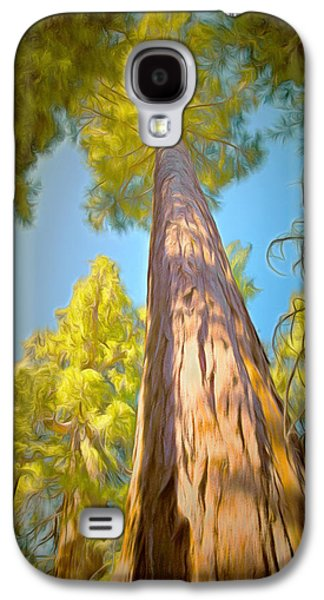 Giant Sequoia Tree Galaxy S4 Case by Barbara Snyder