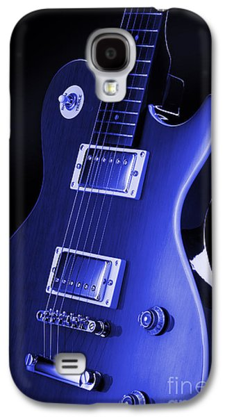 Studio Photography Galaxy S4 Cases - Gibson Les Paul Guitar Galaxy S4 Case by Simon Kayne