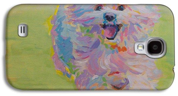 Dog Running. Galaxy S4 Cases - Gigi Galaxy S4 Case by Kimberly Santini