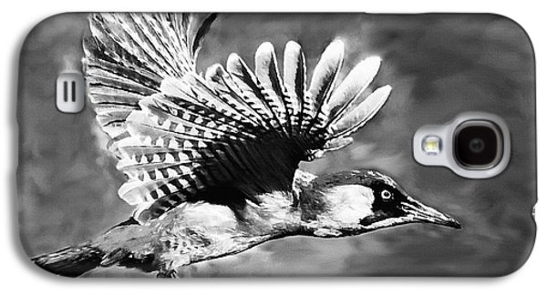 Brown White Sedona Trees Galaxy S4 Cases - Gila Woodpecker Sedona Arizona Galaxy S4 Case by  Bob and Nadine Johnston