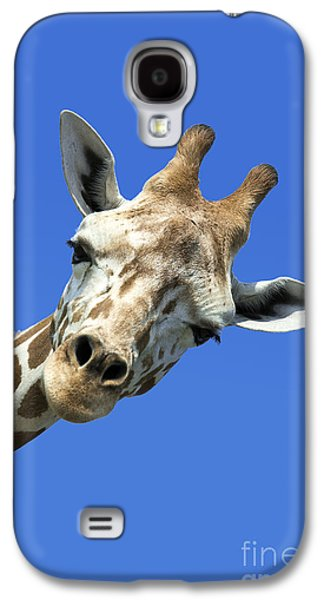 Best Sellers -  - Concept Photographs Galaxy S4 Cases - Giraffe Galaxy S4 Case by John Greim