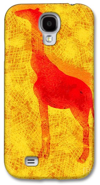 Furnishing Galaxy S4 Cases - Giraffe Galaxy S4 Case by Pixel Chimp