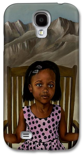Girl Galaxy S4 Cases - Girl from the Mountain Kingdom Galaxy S4 Case by Jolante Hesse