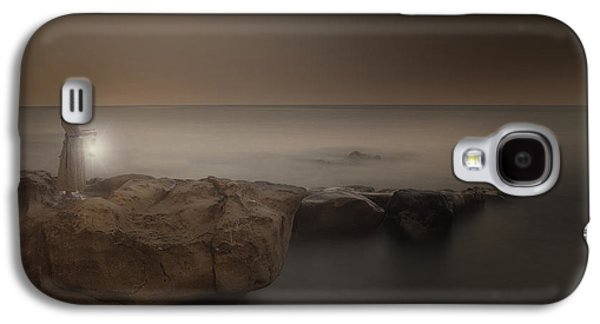 Girl Galaxy S4 Cases - Girl With Lantern Galaxy S4 Case by Joana Kruse