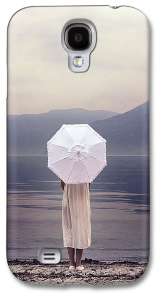 Girl Galaxy S4 Cases - Girl With Parasol Galaxy S4 Case by Joana Kruse