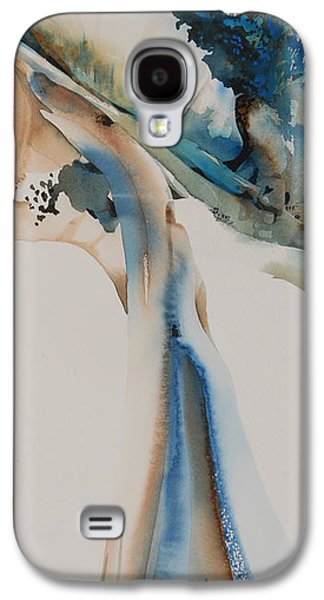 Landscape Acrylic Prints Pastels Galaxy S4 Cases - Giverney Galaxy S4 Case by Donna Acheson-Juillet
