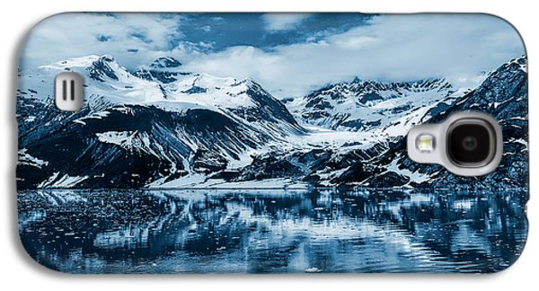 Mountain Photographs Galaxy S4 Cases - Glacier Bay - Alaska - Landscape - Blue  Galaxy S4 Case by Sharon Norman