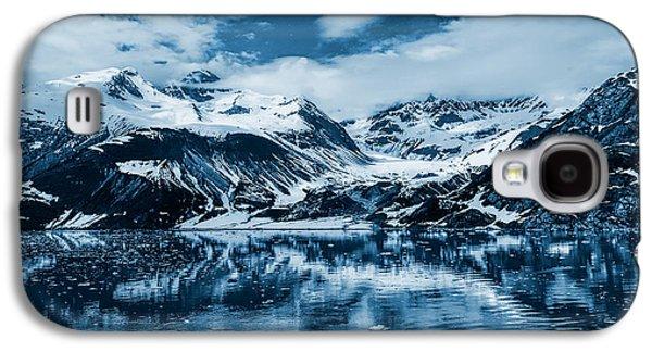 Glacier Bay - Alaska - Landscape - Blue  Galaxy S4 Case by Shara Lee