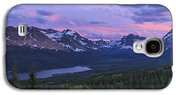 Light Galaxy S4 Cases - Glacier Glow Galaxy S4 Case by Chad Dutson