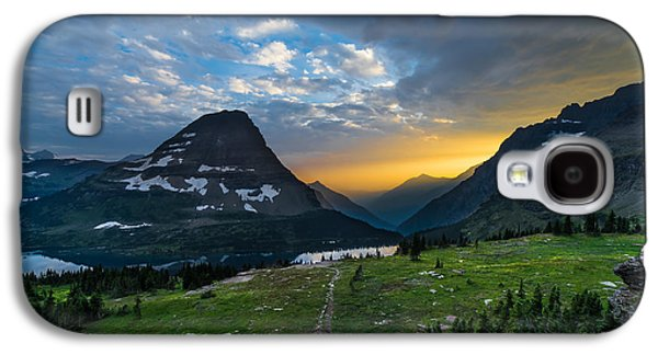 Stunning Galaxy S4 Cases - Glacier National Park 3 Galaxy S4 Case by Larry Marshall