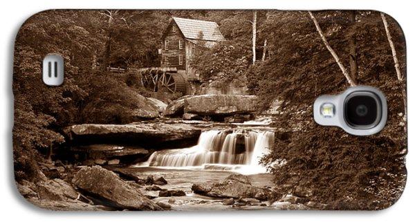 Glade Creek Mill In Sepia Galaxy S4 Case by Tom Mc Nemar