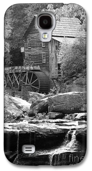 Old Feed Mills Galaxy S4 Cases - Glades Mill Black and White Galaxy S4 Case by Dwight Cook