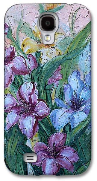 Gladiolus Galaxy S4 Case by Natalie Holland