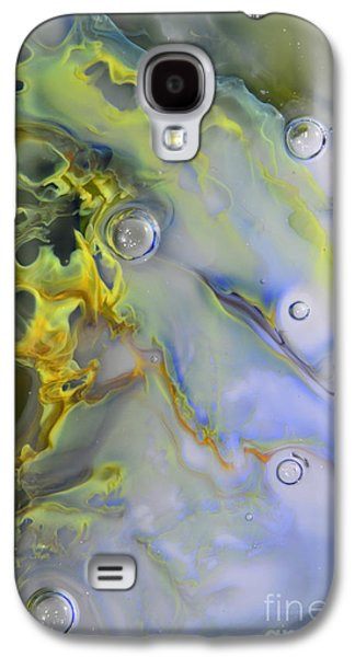 Abstracted Glass Art Galaxy S4 Cases - Glass Abstract 5211401 Galaxy S4 Case by Kimberly Lyon