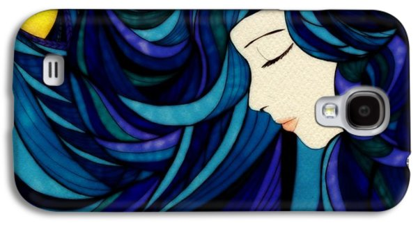 Surrealism Glass Galaxy S4 Cases - Glass Galaxy S4 Case by Anja Partin