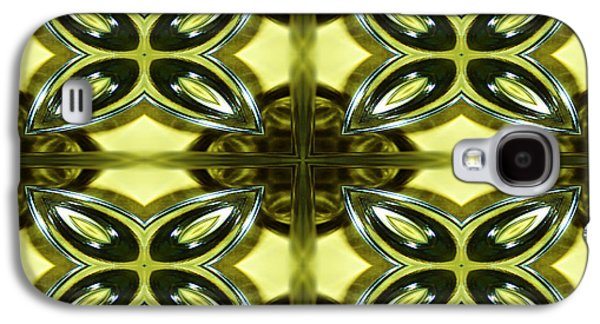 Print Glass Art Galaxy S4 Cases - Glass Art 01 Galaxy S4 Case by Ester  Rogers