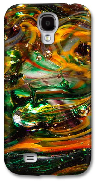 Colorful Abstract Galaxy S4 Cases - Glass Macro Abstract EGO1 Galaxy S4 Case by David Patterson