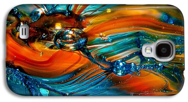 Glass Reflections Galaxy S4 Cases - Glass Macro Abstract RTO Galaxy S4 Case by David Patterson