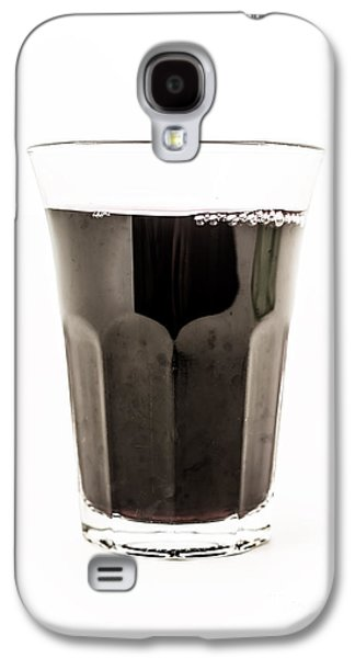 Table Wine Galaxy S4 Cases - Glass of Wine Galaxy S4 Case by Edward Fielding