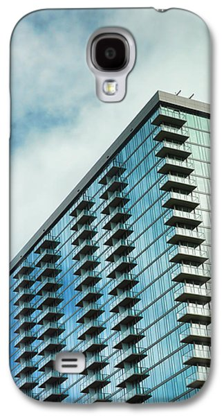 Glass Skyscraper Downtown Nashville Tennessee Galaxy S4 Case by Jai Johnson