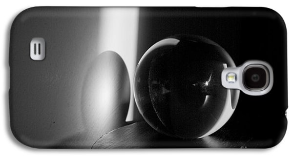 Gordan Photographs Galaxy S4 Cases - Glass Sphere in Light and Shadow Galaxy S4 Case by David Gordon