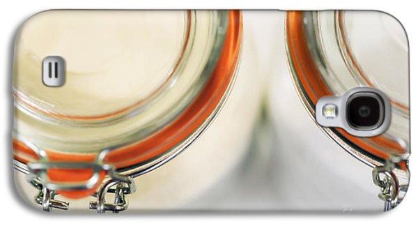 Kitchen Photos Galaxy S4 Cases - Glass Sugar Jars Galaxy S4 Case by Natalie Kinnear