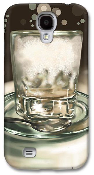 Digital Galaxy S4 Cases - Glass Galaxy S4 Case by Veronica Minozzi