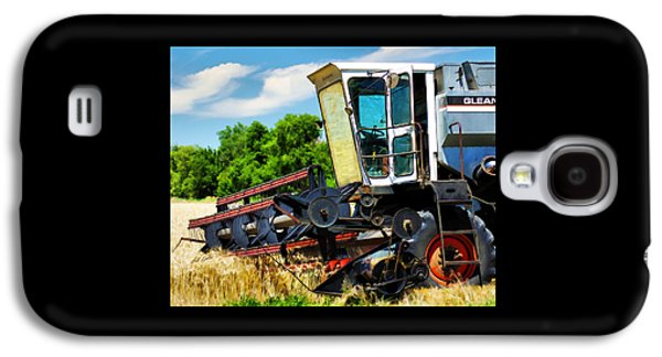 Machinery Galaxy S4 Cases - Gleaner F Combine Galaxy S4 Case by Bill Kesler