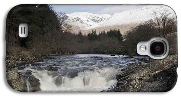 Highlands Digital Art Galaxy S4 Cases - Glen Orchy Scotland Galaxy S4 Case by Pat Speirs