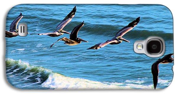 Coasting Galaxy S4 Cases - Gliding for Fun Galaxy S4 Case by Jane Lassiter  Boahn