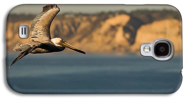 Gliding Pelican Galaxy S4 Case by Sebastian Musial