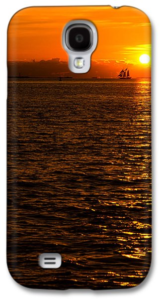 Sailboats Galaxy S4 Cases - Glimmer Galaxy S4 Case by Chad Dutson