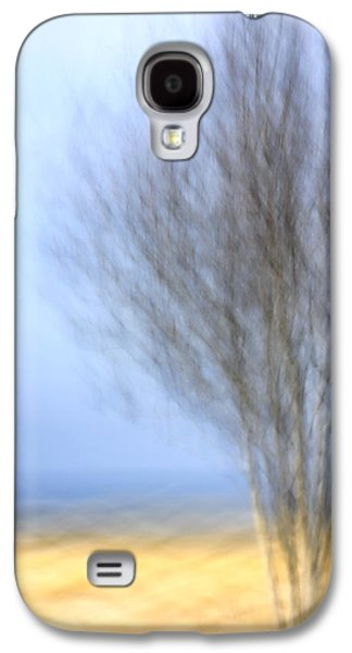Drive Galaxy S4 Cases - Glimpse of Trees Sand and Beach Galaxy S4 Case by Carol Leigh