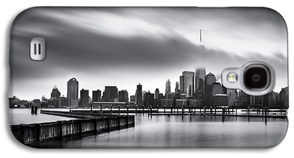 Manhatan Galaxy S4 Cases - Gloomy Day for the Financial District Galaxy S4 Case by Mihai Andritoiu