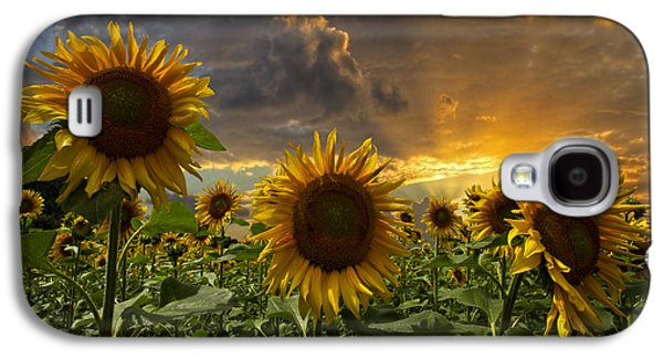 Florida Flowers Galaxy S4 Cases - Glory Galaxy S4 Case by Debra and Dave Vanderlaan