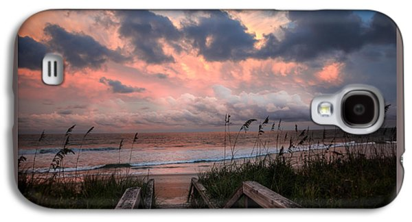 Inner Peace Galaxy S4 Cases - GLORY of DAWN Galaxy S4 Case by Karen Wiles