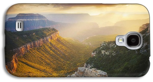 Summer Storm Galaxy S4 Cases - Glow of the Gods Galaxy S4 Case by Peter Coskun