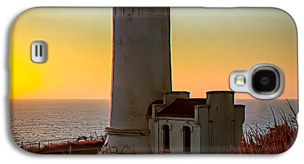 Haybale Galaxy S4 Cases - Glowing Lighthouse Galaxy S4 Case by Robert Bales