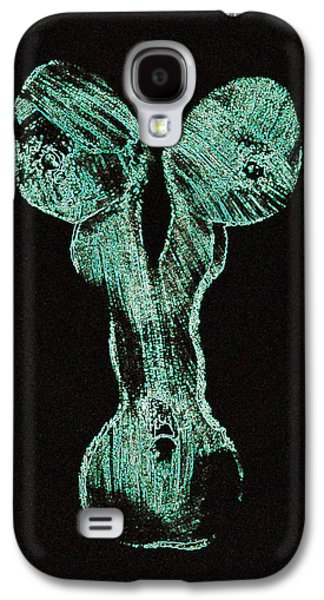 Nudes Pyrography Galaxy S4 Cases - Glowing personality Galaxy S4 Case by Mayhem Mediums
