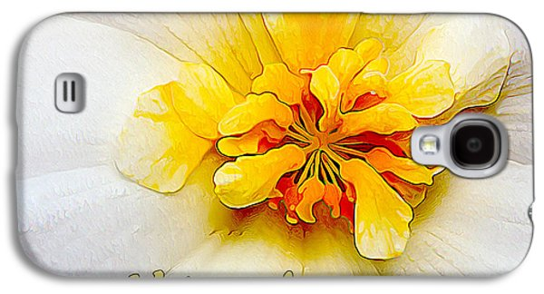 Photo Manipulation Galaxy S4 Cases - Glowing Softly - Kindness Galaxy S4 Case by Bill Caldwell -        ABeautifulSky Photography
