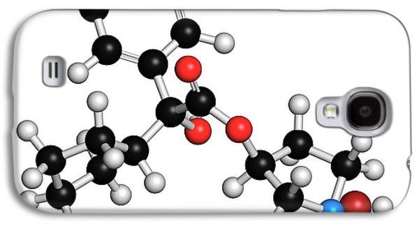 Glycopyrronium Bromide Copd Drug Molecule Galaxy S4 Case by Molekuul