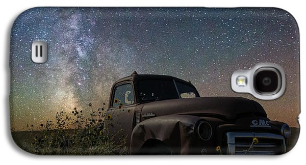 Old Trucks Photographs Galaxy S4 Cases - Gmc Galaxy S4 Case by Aaron J Groen