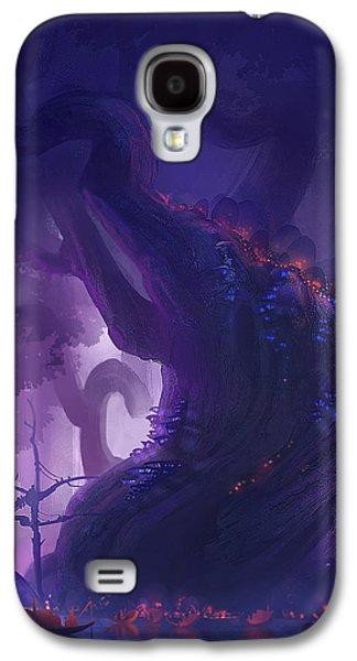 Digital Galaxy S4 Cases - Gnome City Galaxy S4 Case by Kristina Vardazaryan