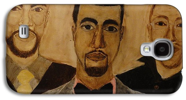 Kanye West Paintings Galaxy S4 Cases - GO Hip Hop Galaxy S4 Case by Ginnie McKnight
