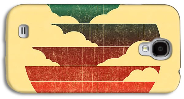 Road Travel Galaxy S4 Cases - Go west Galaxy S4 Case by Budi Kwan