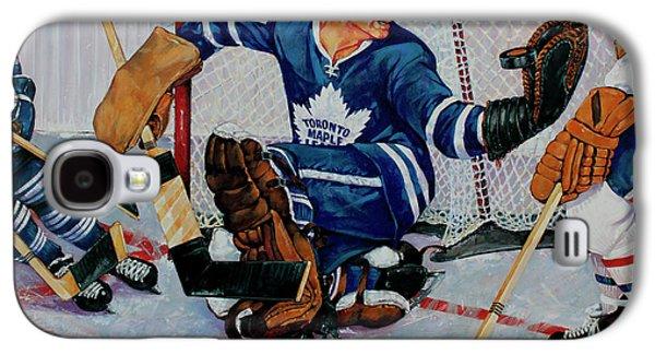 Goaltender Galaxy S4 Case by Derrick Higgins